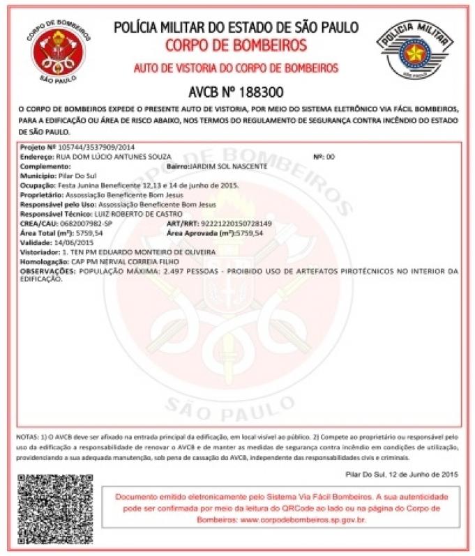 Empresa de Vistoria AVCB para Indústrias na Vila Clementino - Vistoria AVCB para Estabelecimentos