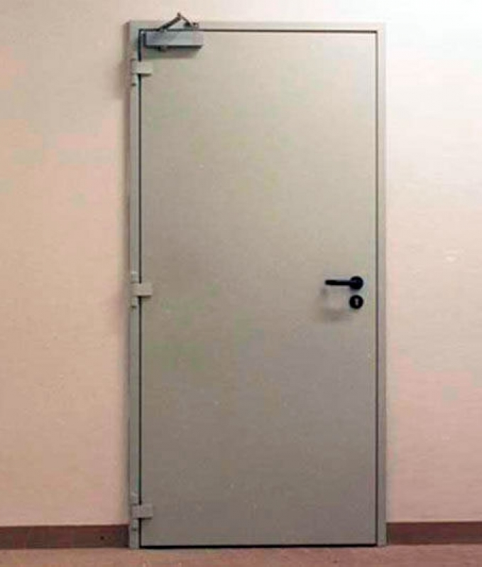 Instalação de Porta Corta Fogo para Indústria - R & C Consultoria Empresarial