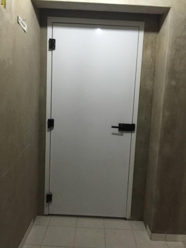 Instalação de Porta Corta Fogo na Vila Clementino - Instalação de Porta Corta Fogo