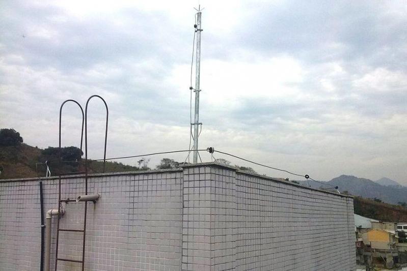 Instalação de Spda Serra da Cantareira - Spda Externo