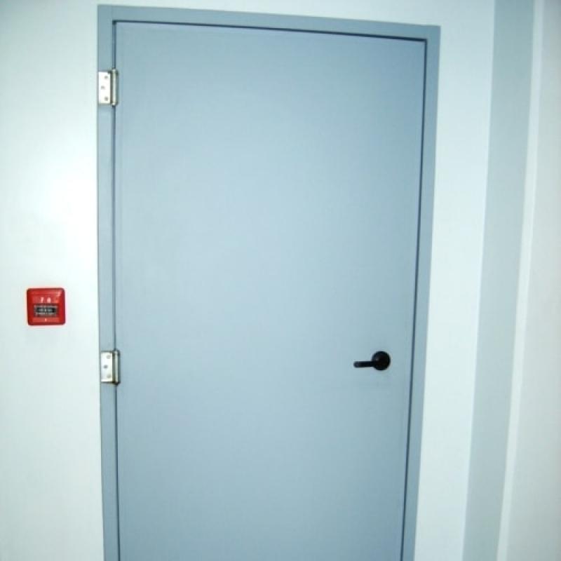 Porta Corta Fogo para Edifício Residencial - R & C Consultoria Empresarial