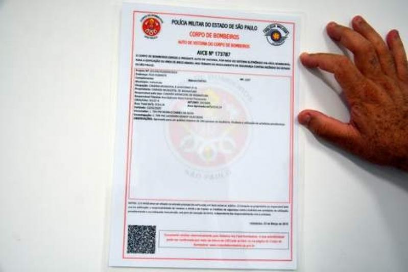 Quanto Custa Renovação de AVCB na Freguesia do Ó - Renovação de Auto de Vistoria do Corpo de Bombeiros