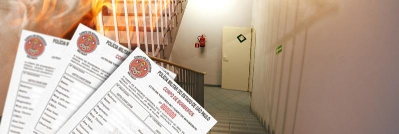 Renovação de AVCB para Condomínios Empresarial na Sé - Renovação AVCB de Corpo de Bombeiros