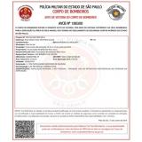 empresa de vistoria AVCB para indústrias Campo Belo