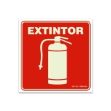 empresa que faz placa extintor de incêndio Cupecê