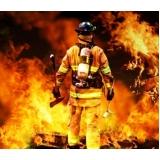 formação de brigada de incêndio na Chora Menino