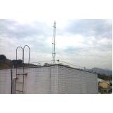 fornecedor de para raio antena para predio Parque São Lucas