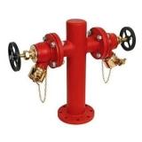 hidrante duplo Ibirapuera