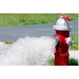 hidrante para incêndio preço Bela Vista