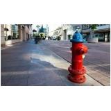 hidrantes para incêndio Cursino
