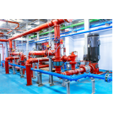 instalação hidráulica para incêndio Saúde