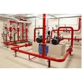 instalação hidráulica proteção de incêndio cotação Vila Buarque