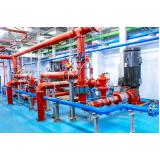 instalação tipo hidráulica contra incêndio Água Rasa