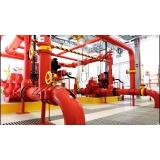 instalação hidráulica contra incêndio