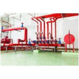 instalação hidráulica de incêndio profissional