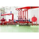 instalação tipo hidráulica contra incêndio
