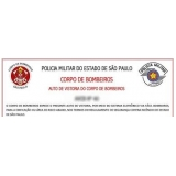 laudo AVCB para indústrias Alto de Pinheiros