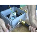 manutenção de instalação elétricas a prova de explosão