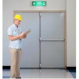 manutenção de porta corta fogo Pari