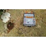 medição ôhmica para raio Itapecerica da Serra