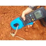 medições de raios ôhmicas Jardins