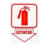 placas de extintor de incêndio Luz