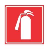 placa sinalização extintores