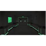 placa saída de emergência fotoluminescente