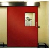 porta corta fogo de correr valor Piqueri