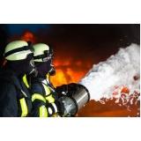 treinamento a combate de incêndio industrial na Vila Prudente