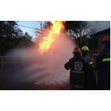 treinamento a combate de incêndio inflamáveis Pari