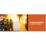 treinamento de combate a incêndio Parque São Rafael