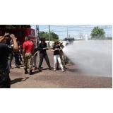 treinamento para brigadistas em Guaianases