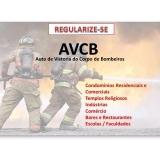 vistoria AVCB para indústrias na Santa Isabel