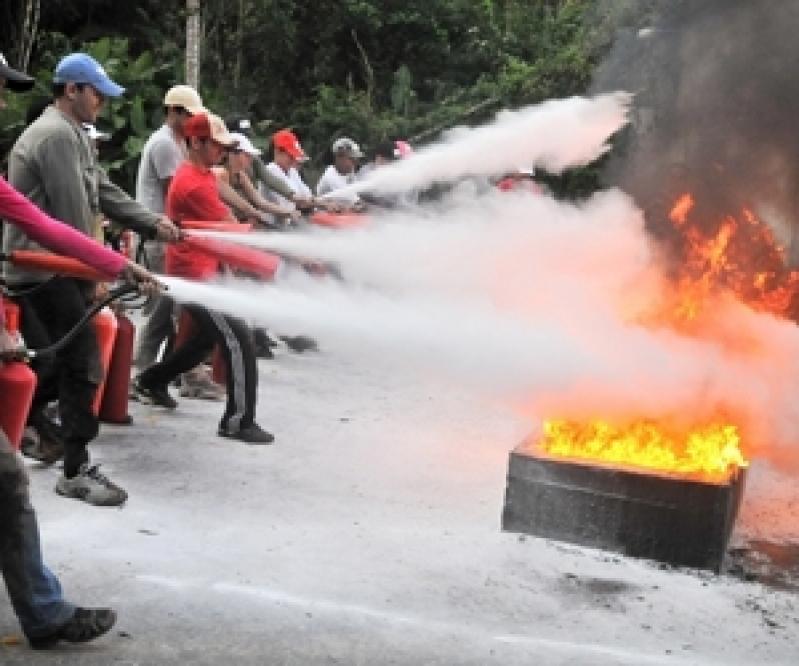 Treinamento Prático de Combate a Incêndio Itaim Bibi - Treinamento Prático de Combate a Incêndio